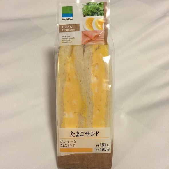 egg sandwich @ Family Mart, Tokyo