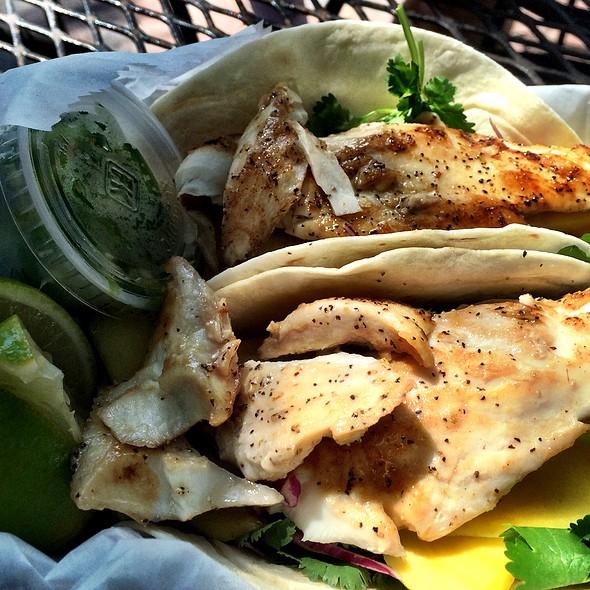 Cayo Fish Taco @ Garbo's Grill