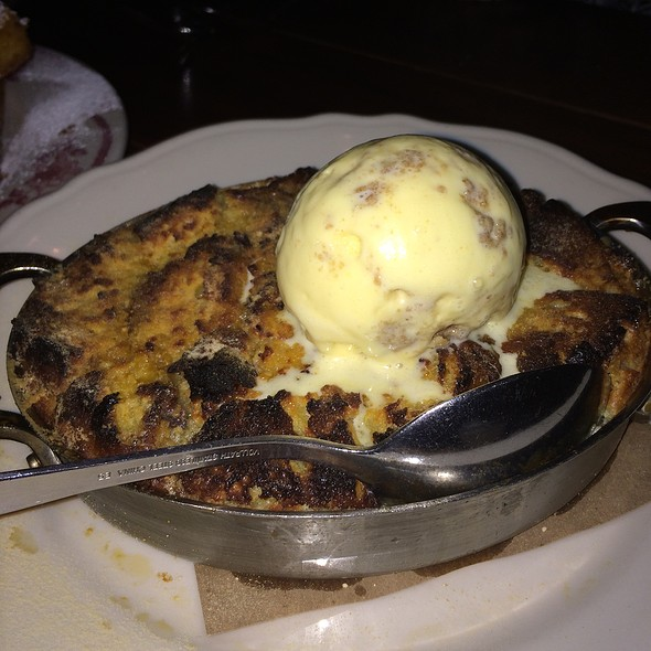 Bread Pudding And Oatmeal Ice Cream @ The Publican