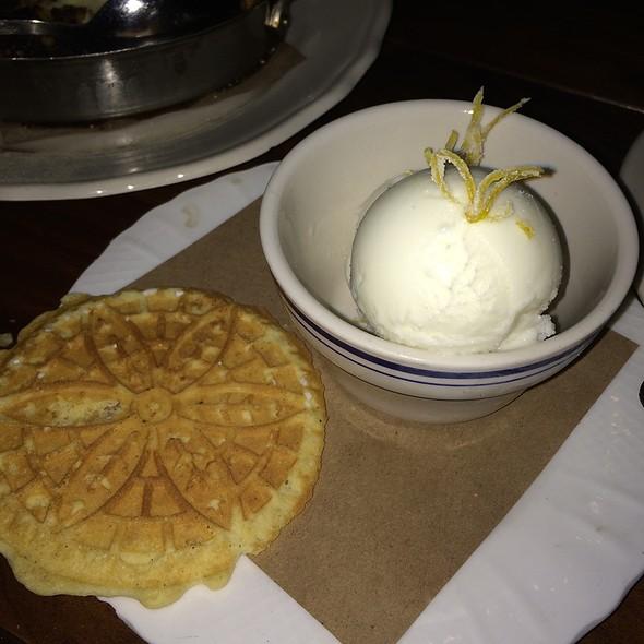 Lemon Buttermilk Sorbet @ The Publican