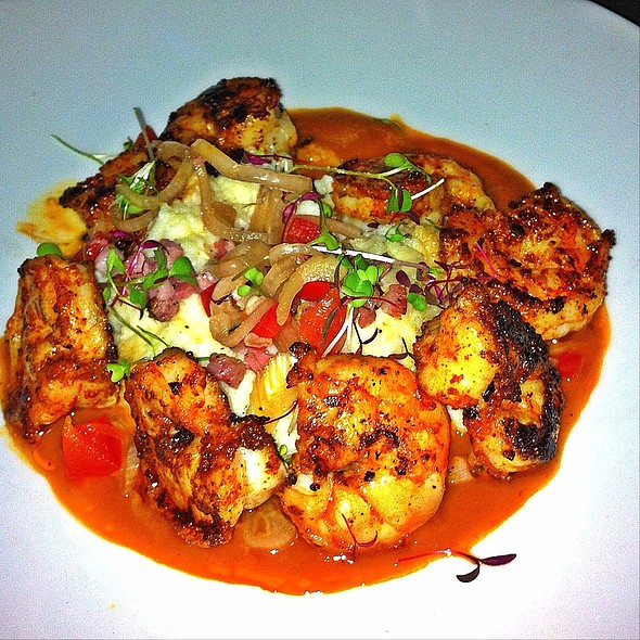 Shrimp and Grits @ Black Sheep Restaurant