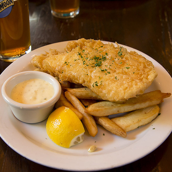 Fish & Chips @ The Brit (Britannia Arms)