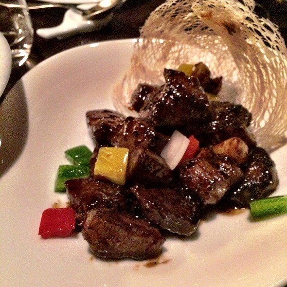 Pepper Steak @ Hakkasan