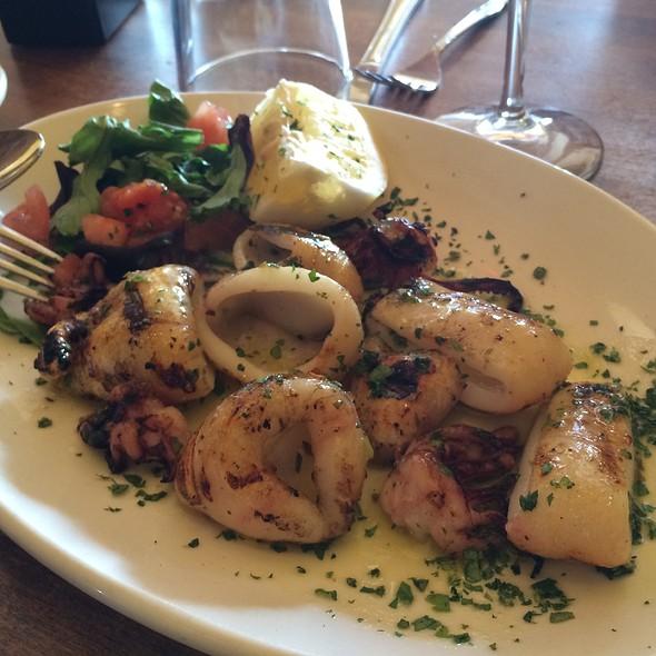 Grilled Calamari @ Antica Pizzeria