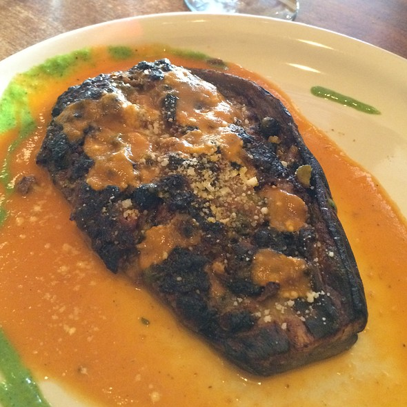 Roasted Eggplant Stuffed With Sausage @ Antica Pizzeria