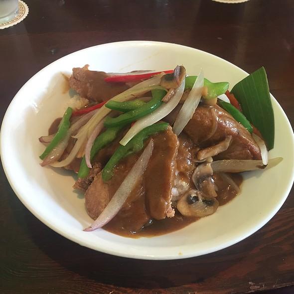 Fried Ahi With Japanese Curry @ Uahi Island Grill