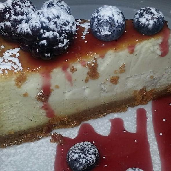 Creme Brulee Cheesecake - Bacchus Wine Bar & Restaurant, Buffalo, NY