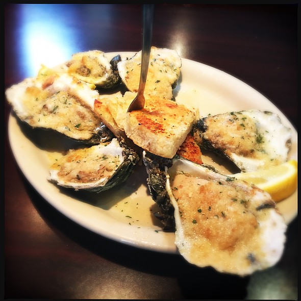 Baked Oysters @ BB's Cafe