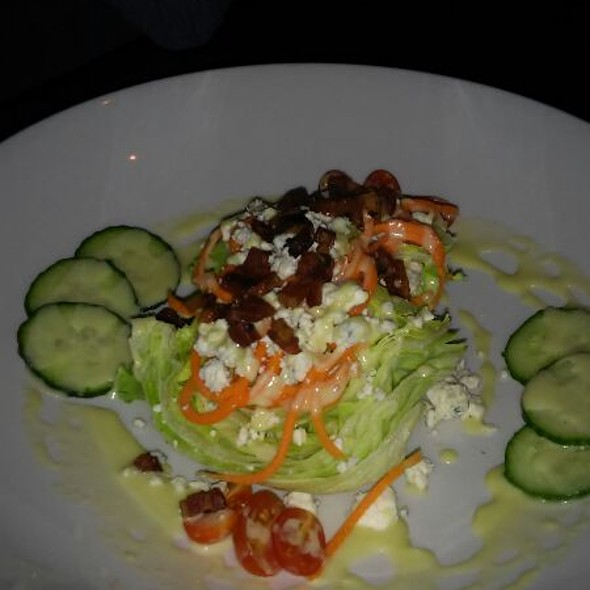 American Wedge Salad @ Corked Wine Bar & Steak House