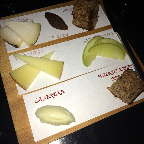 Cheese Plate @ The Bazaar by José Andrés