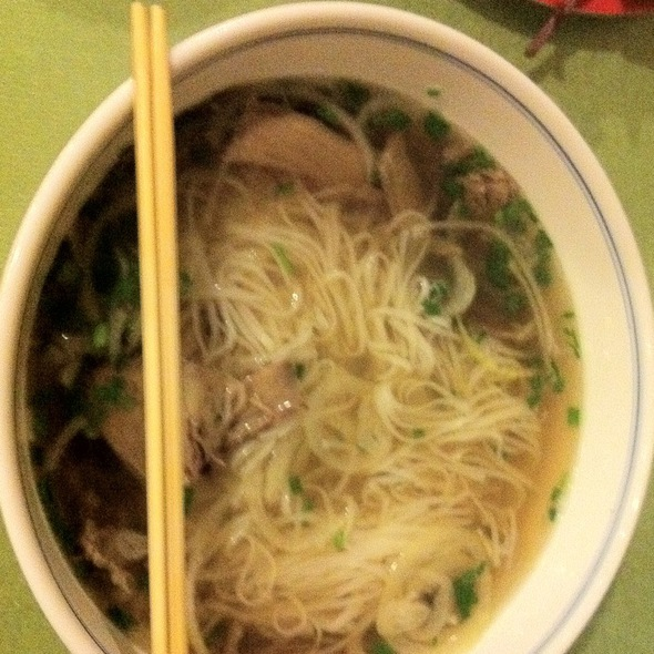 Pho Super Bowl With Brisket, Flank And Rare Beef