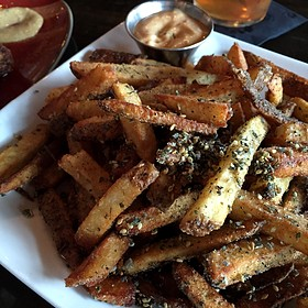 Zaatar Spiced Fries