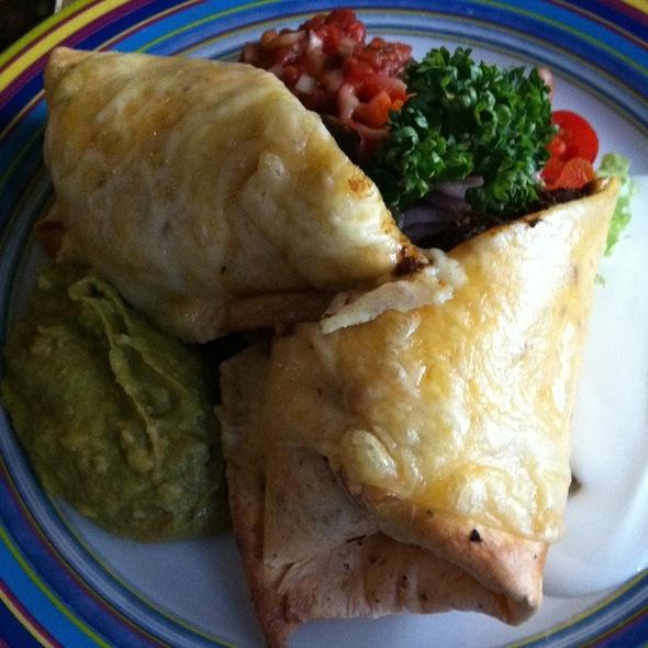 Vegetarian Enchilladas @ Restaurang Peppar