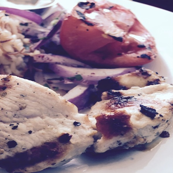 chicken kabob - Sitti, Raleigh, NC