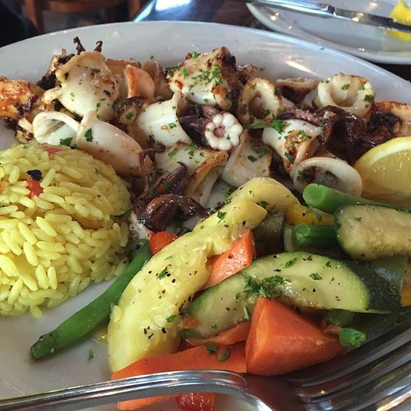 Calamari - Abalonetti Bar and Grill, Monterey, CA