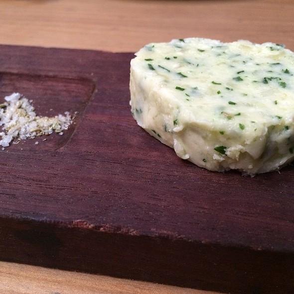 Garlic Butter With Fennel Salt