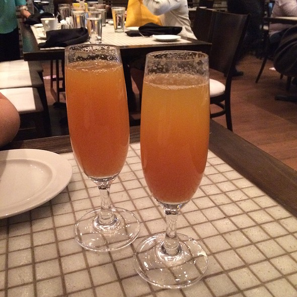 Acerola Mimosa - Mio Restaurant, Washington, DC