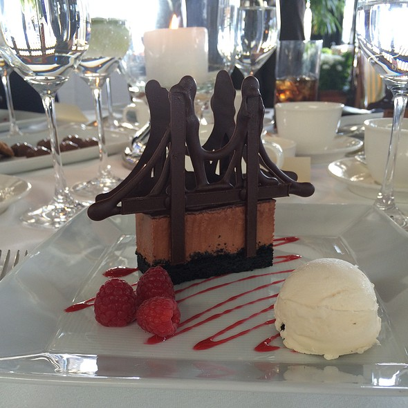 Chocolate Marquise Brooklyn Bridge - River Cafe
