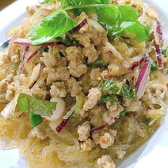 Larb Gai @ Isaan Station Thai Street Food