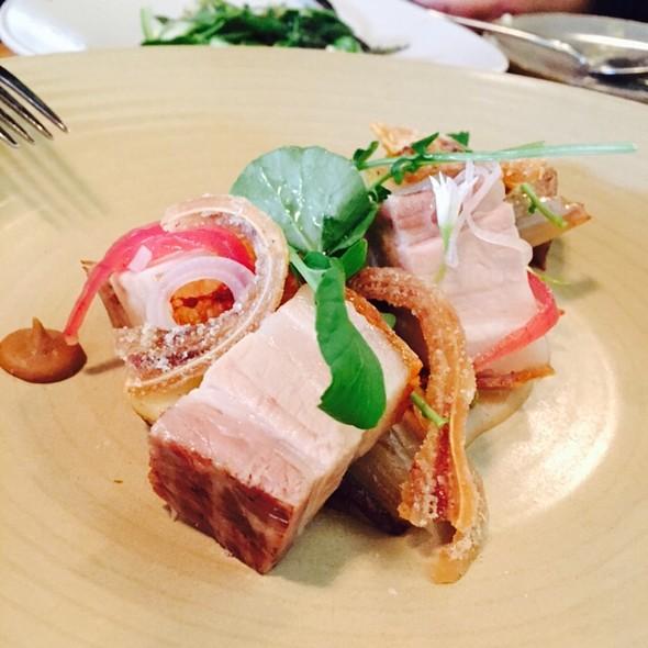 Warm Pork Belly & Crispy Pig's Ears @ Stones Throw