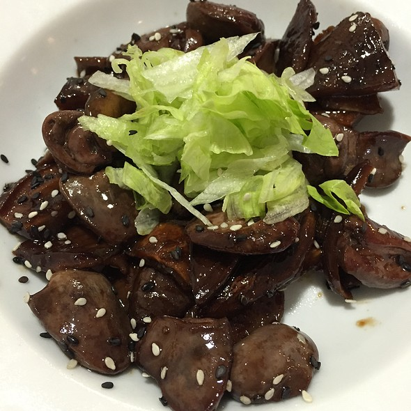 Duck Hearts With Shiitake @ Besuto