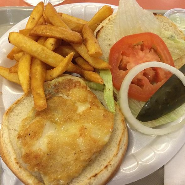 Mahi Mahi Sandwich Plate @ Kenny's Hawaiian Barbeque Express