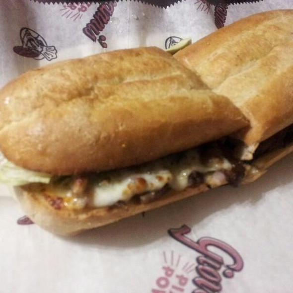 Philly Cheese And Steak Sandwich @ Giovanni's