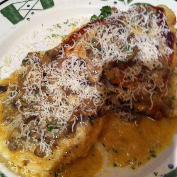 Ryan balaski foodspotting for Olive garden stuffed chicken marsala