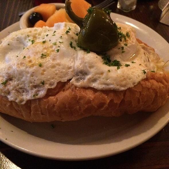 Nancy- Eggs, Meatballs, Mozzarella Sandwich - Red Gravy, New Orleans, LA