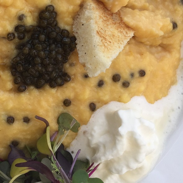 Caviar Scrambled Eggs @ Petrossian Paris Boutique & Cafe
