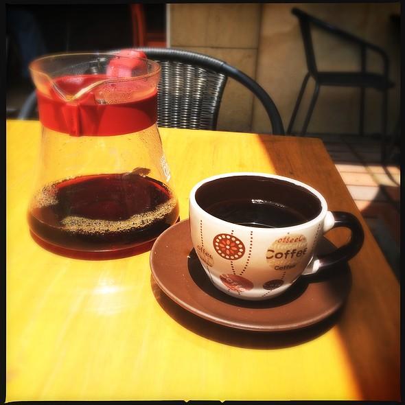 Café Filtrado En Dripper