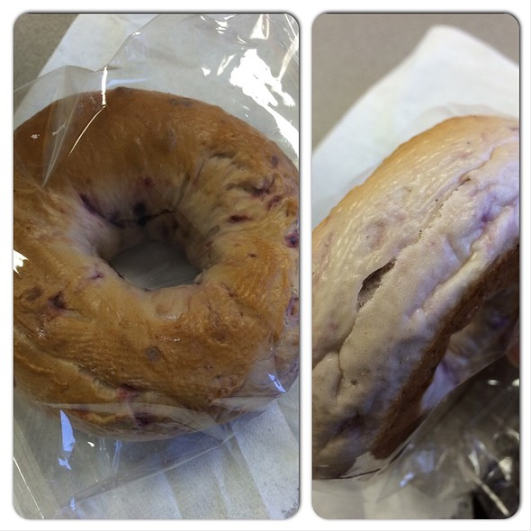 Blueberry Bagel @ ABC Store