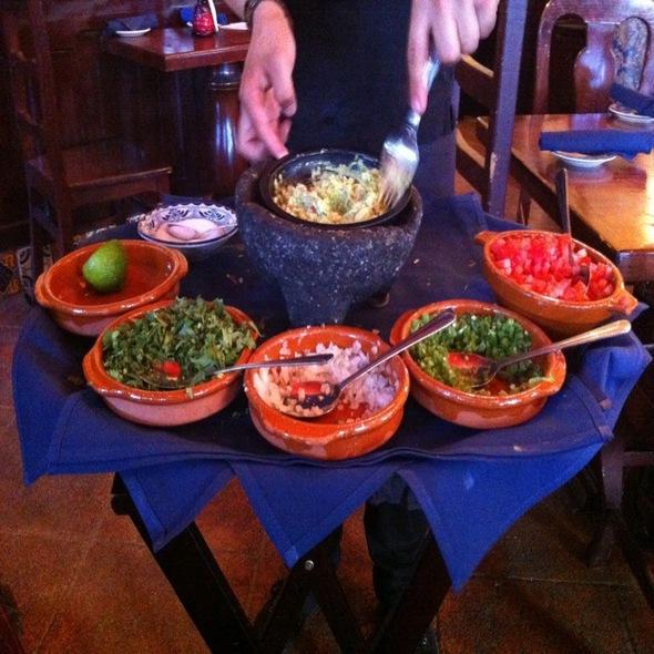 Guacamole - Consuelo Mexican Bistro, San Jose, CA