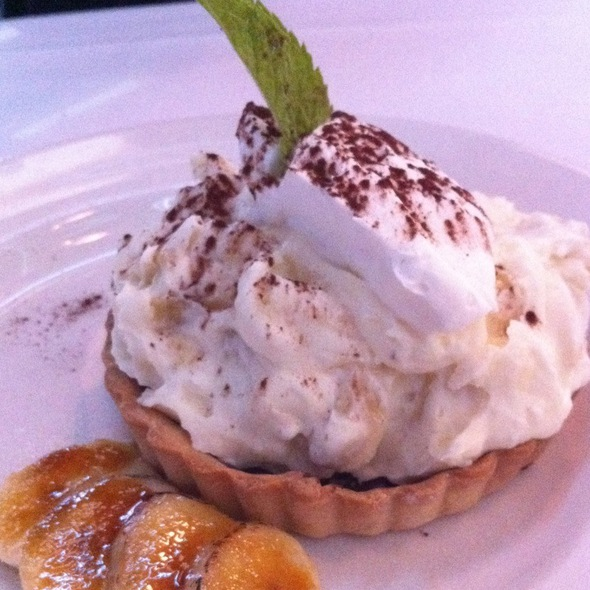 Banana Cream Pie @ 801 Chophouse