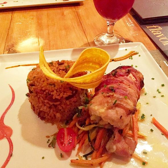 Pollo Relleno De Trifongo Con Arroz Mamposteao - Palio - Sheraton Old San Juan Hotel & Casino, Old San Juan, PR