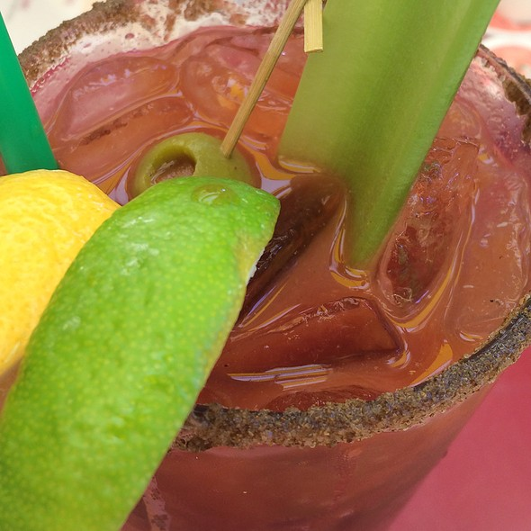 Bloody Mary @ the terrace cafe