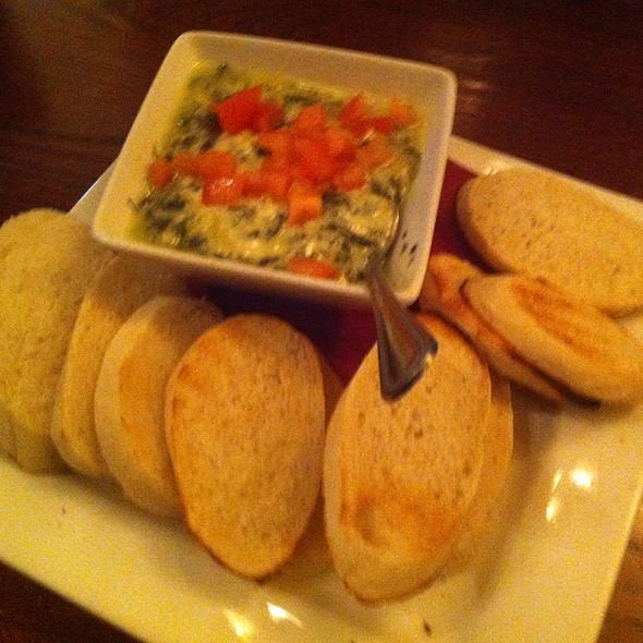 Spinach & Artichoke Dip @ Claddagh Irish Pub the