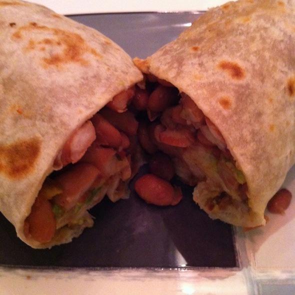 Vegetarian Burrito @ El Farolito