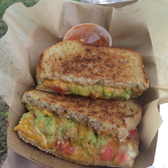 Gambler (Grilled Cheese Sandwich) @ Riddle In the Griddle