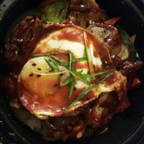 Pork Belly Bokkeum @ Mama Kim's Korean BBQ