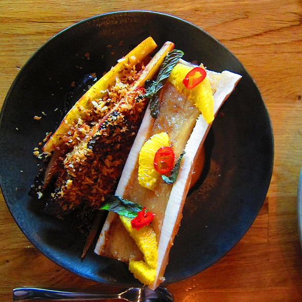 Oven Roasted Bone Marrow @ Town