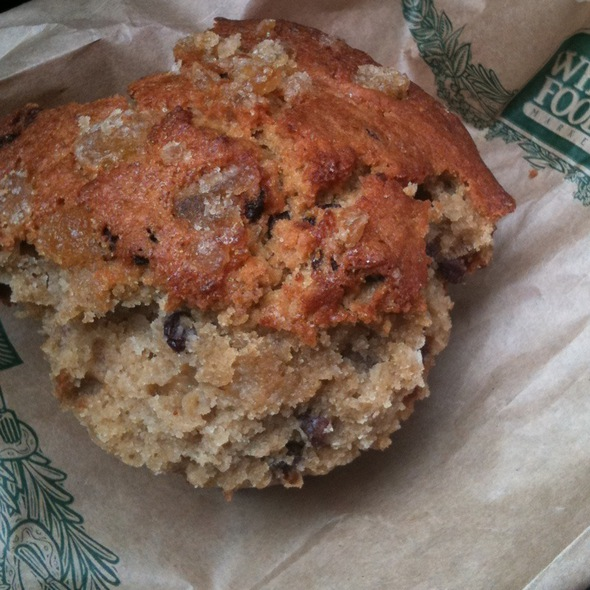 Ginger Rice Muffin @ Whole Foods Market