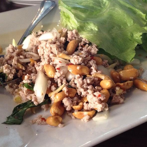 Basil Pork With Lettuce Wrap - Basil Asian Bistro, Canton, OH