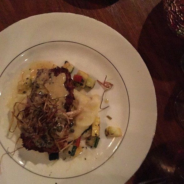 Parmesan Encrusted Sea Bass - Equus and Jack's Lounge, Louisville, KY