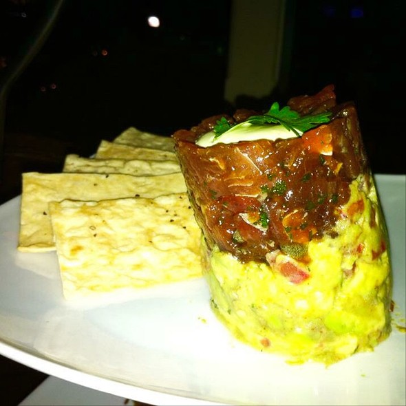 Poke Ahi Tuna Napoleon - Tommy Bahama Restaurant & Bar - Scottsdale, Scottsdale, AZ