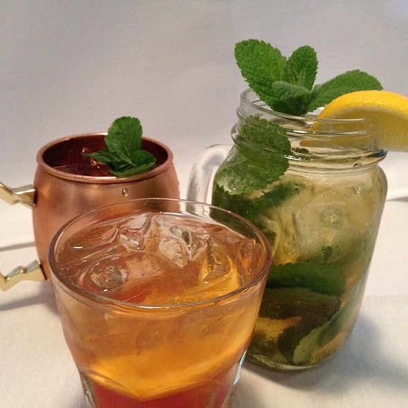 Mint Julep Blood Orange Old Fashioned And Antebellum Ild Fashioned - MacArthur Park - Palo Alto, Palo Alto, CA