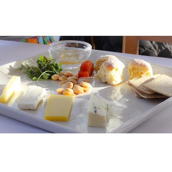 Artisinal Cheese Plate - Simon Pearce Restaurant, Quechee, VT