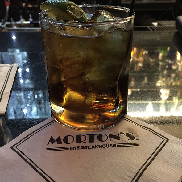 Rum And Diet Coke - Morton's The Steakhouse - Coral Gables, Coral Gables, FL