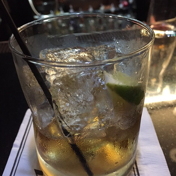 Bacardi Rum And Diet Coke - Morton's The Steakhouse - Coral Gables, Coral Gables, FL