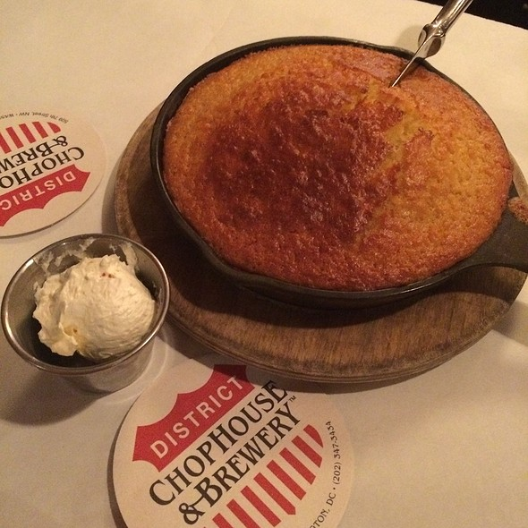 Cornbread - District Chophouse, Washington, DC